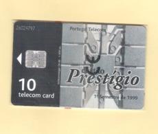 "PHONECARD PORTUGAL PT259  ""CART. PRESTIGIO / 1° SEMESTRE"" EX: 1000 - MINT/SEALED - Portugal"