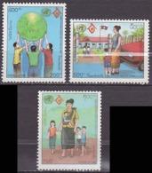 Série De 3 TP Neufs ** N° 1147/1149(Yvert) Laos 1994 - Année Internationale De La Famille - Laos