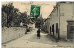 La Croisille Sur Briance: Route De La Porcherie, Animation - Francia