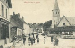Frencq - Rue De L'Eglise - Altri Comuni