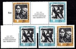 DDR 1971  Mi.nr.: 1680-1681+1681+1680-1681 Int.Nationale Föderation Der....  Neuf Sans Charniere /MNH / Postfris - [6] République Démocratique