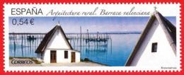 España. Spain. 2014. Arquitectura Rural. Barraca Valenciana - 1931-Heute: 2. Rep. - ... Juan Carlos I