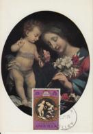 Carte-Maximum ANGUILLA N°Yvert 194 / Carlo DOLCI / La Vierge Et L'Enfant - Anguilla (1968-...)
