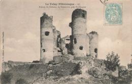 43 Ruines Du Chateau De Domeyrat Près Paulhaguet - Otros Municipios