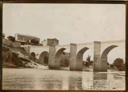 140919 - PHOTO ANCIENNE DEBUT XXème - 30 SAINTE ANASTASIE Le Pont En Arc Médiéval Saint Nicolas De Campagnac - Autres Communes