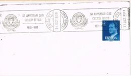 33920. Carta BADALONA (Barcelona) 1980. Rodillo Club Ciclista BETULO. Ciclismo - 1931-Hoy: 2ª República - ... Juan Carlos I