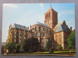 CPA 76 FECAMP  -  L'abbaye XIè Et XIIè Siècle  Vers 1970 - Fécamp