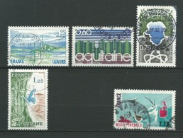 FRANCE: Obl., N°1863 à 1866, Série, TB - Gebraucht