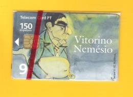 "PHONECARD PORTUGAL ""VITORINO NEMÉSIO  AÇORES "" PT366 - MINT/SEALED - Portugal"