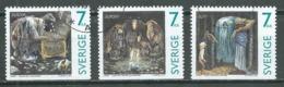 Suède YT N°1983/1985 Europa 1997 Contes Et Légendes Oblitéré ° - Europa-CEPT