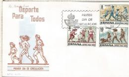 ESPAÑA SPD 1979 DEPORTE SPORT CYCLING JOGGING - Atletismo