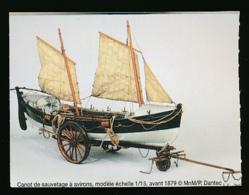 Ticket D'entrée : Lorient, Musée National De La Marine, Canot De Sauvetage à Avirons Avant 1879 - Tickets D'entrée