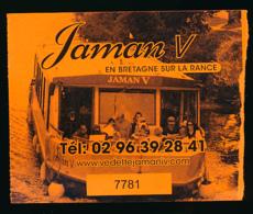 Ticket D'entrée : Dinan, Jaman V, En Bretagne Sur La Rance, Balade En Bateaux, Vedette - Tickets D'entrée