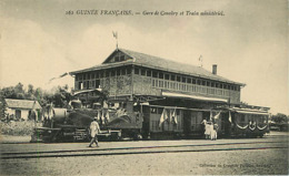 Guinée  Conakry  La Gare Train - Guinea