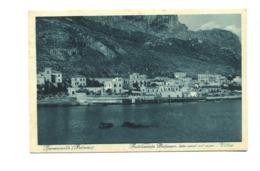 14262 - Sferracavallo - Stabilimento Balneare, Lato Nord Sul Mare - Villini - Palermo