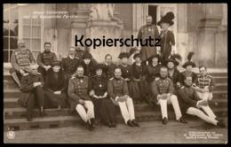 ALTE POSTKARTE KAISER WILHELM UNSER KAISERPAAR UND DIE KAISERLICHE FAMILIE Prinz Emperors Family Ansichtskarte Postcard - Familias Reales