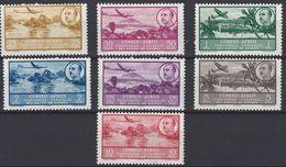 Guinea 298/304 * Franco. 1951. Charnela. - Guinea Española
