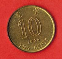 Hong Kong 10 Cents, 1998 - Hong Kong