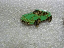 Pin's Porsche De Couleur Verte - Porsche