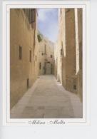 Malte - Malta : Mdina - Holy Cross Street - Malte