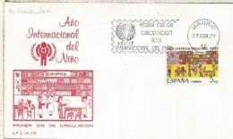 ESPAÑA SPD 1979 CHILDREN YEAR UNICEF AÑO INTERNACIONAL DEL NIÑO - Otros