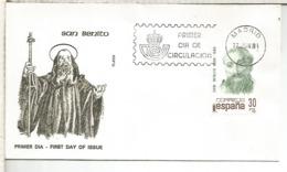 ESPAÑA SPD 1981 SAN BENITO RELIGION - Cristianismo
