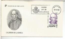 ESPAÑA SPD 1982 CALDERON DE LA BARCA TEATRO - Escritores