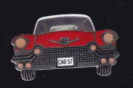 60024- Pin's .automobile.cad57..signé Démons Et Merveilles. - Corvette