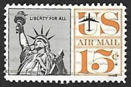 ETATS UNIS 1960 -  PA 59  -  Oblitéré - Poste Aérienne