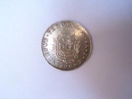 8 Real 1826 Pérou - Pérou