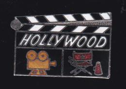 60031- Pin's .Hollywood.cinema... - Cinéma