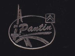 60032- Pin's .Citroen.Pantin.signé Pichard.. - Citroën