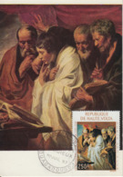 Carte-Maximum HAUTE-VOLTA N°Yvert PA 45 / Jordaens / Les Evangélistes - Haute-Volta (1958-1984)