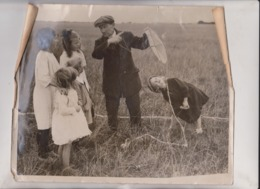 SEE CORNERS MECHANIC AVRO AEROPLANE COMPANY STUNTING KITE  25*20CM Fonds Victor FORBIN 1864-1947 - Sin Clasificación