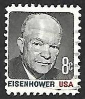 ETATS UNIS  1971   -   YT  921-  Eisenhower  -   Oblitéré - Etats-Unis