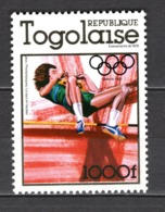 TOGO N°  928  NEUF SANS CHARNIERE COTE  13.50€  JEUX OLYMPIQUES  MOSCOU - Togo (1960-...)