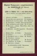 """JOINVILLE  (52) : """" HÔPITAL TEMPORAIRE COMPLEMENTAIRE """" 1917  ( Emile HUMBLOT ) - Joinville"""