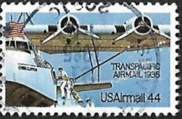 ETATS UNIS  1985   -  PA 109 -  TransPacific - Poste Aérienne