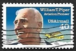 ETATS UNIS  1991 -   YT  PA 122   -   Piper   - Oblitéré - Poste Aérienne