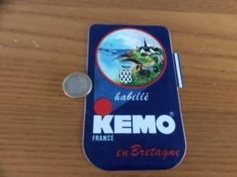 AUTOCOLLANT, Sticker «KEMO FRANCE - Habillé En Bretagne» (blason, Vêtement) - Autocollants