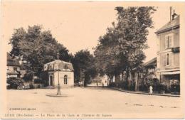 70 LURE - La Place De La Gare Et L'avenue Du Square - Lure