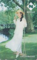 Télécarte Japon / 110-133712 - Femme - NISSAY - GIRL Japan Phonecard - Frau Versicherung Telefonkarte  Assu 6163 - Japan