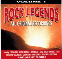 CD N°758 - LOT DE 4 CD ROCK LEGENDS - ALL ORIGINAL RECORDINGS - COMPILATION - Hard Rock & Metal
