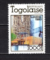 TOGO N°  989  NEUF SANS CHARNIERE COTE  11.00€ ELIZABETH II   EXPOSITION PHILATELIQUE - Togo (1960-...)