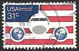 ETATS UNIS  1968-   PA  84   - Oblitéré - Poste Aérienne