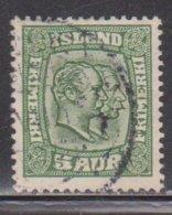 ICELAND Scott # 74 Used - Kings Christian IX & Frederik VIII - Used Stamps