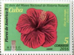 Lote CU2016-5, Cuba, 2016, Sello, Stamp, Flores De America, 8 V, Flowers Of America, Flower - Cuba