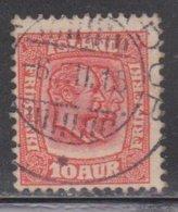 ICELAND Scott # 76 Used - Kings Christian IX & Frederik VIII - Used Stamps