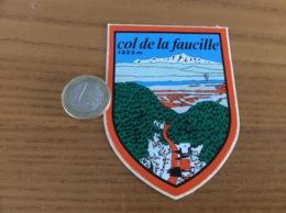 AUTOCOLLANT, Sticker «1323m Col De La Faucille (01)» (blason) - Autocollants