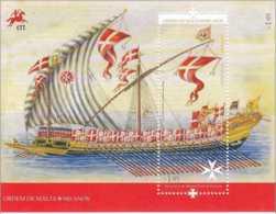 2013 Portugal - 900 Years Of Soverenity Of Maltese Order - MS - Mi B 353 MNH** JI With Maltese Order (hj 16.1) Sail Shi - Nuevos